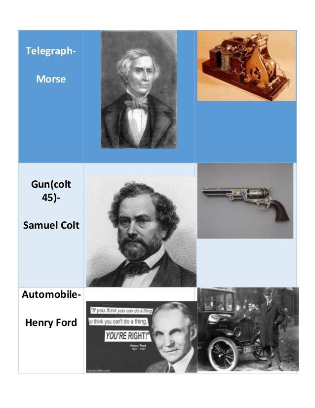 list  inventors   invention