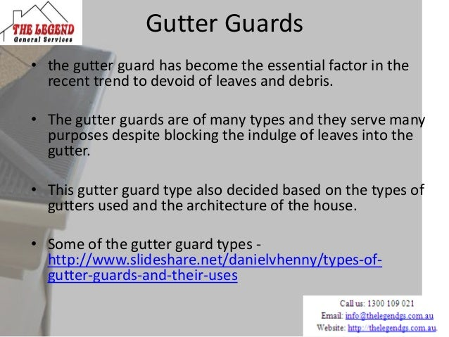 List Of Materials Used In Guttering Process