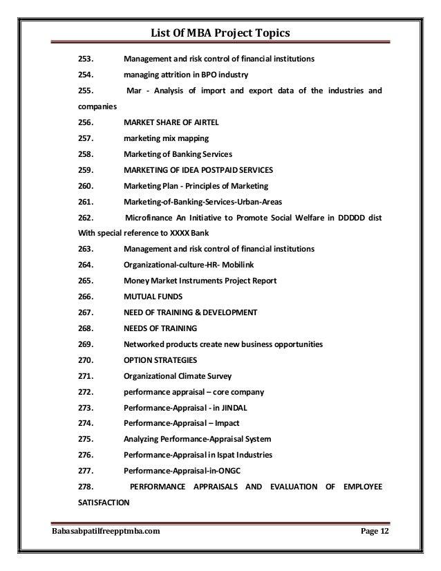 Project management term paper