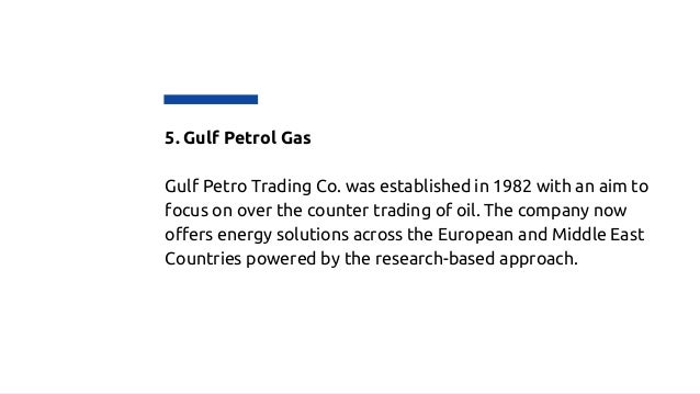 List of oil and gas companies in UAE