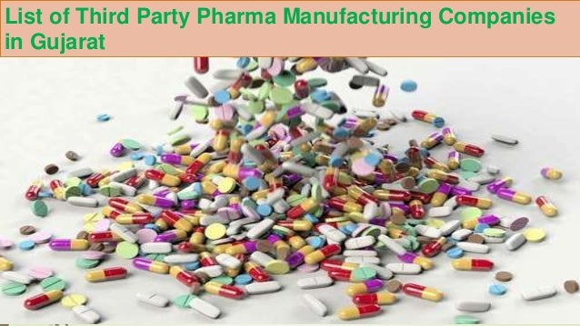 List of Third Party Pharma Manufacturing Companies in Gujarat