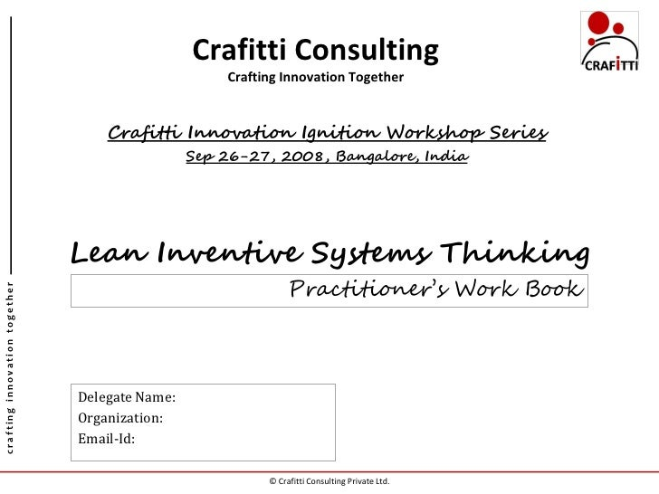 Crafitti Consulting                                                     Crafting Innovation Together                      ...