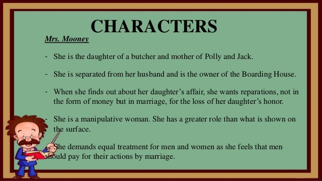 james joyce the boarding house Dubliners: top ten quotes in the boarding house, mr doran has just discovered that he has impregnated young polly mooney and will soon be joyce james log.
