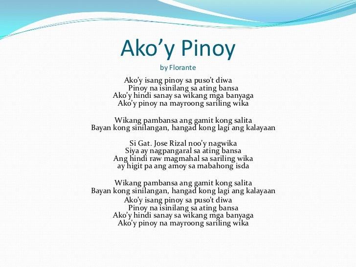 pinoy ang dating lyrics Bading ang dating lyrics by francis m: who huhuhu oohh / oy mga badush / pasa nyo 'to / si kulas nag mamacho-machohan / ang tigas.