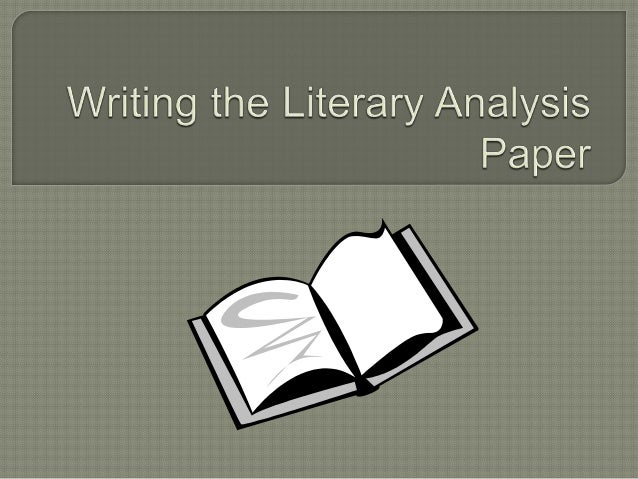 A literary analysis is a paper that gives a deep and illuminating explanation of a literary work--it is a Critical Interp...