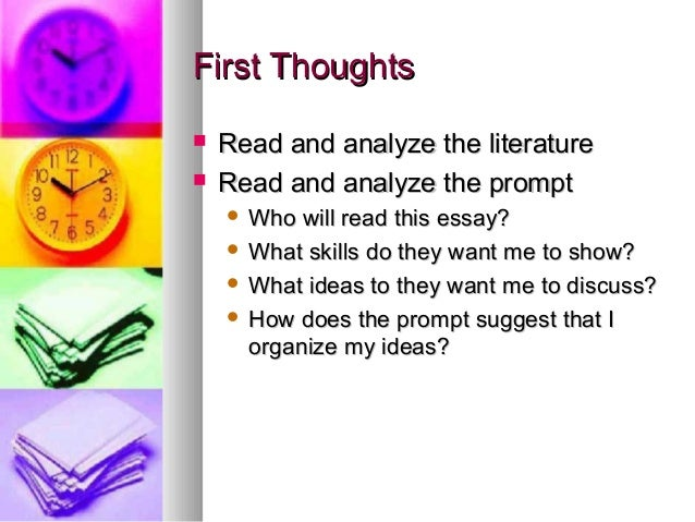 lit analysis essay slideshare