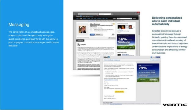 MessagingThe combination of a compelling business case,unique content and the opportunity to target aspecific audience, pr...