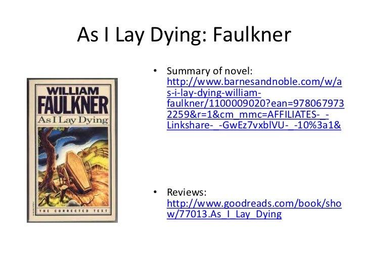 as i lay dying summary