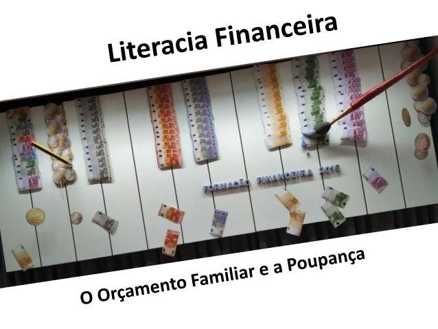 O que deves saber!!! O que é um orçamento familiar? é a parte de um plano financeiro que compreende a previsão de receitas...