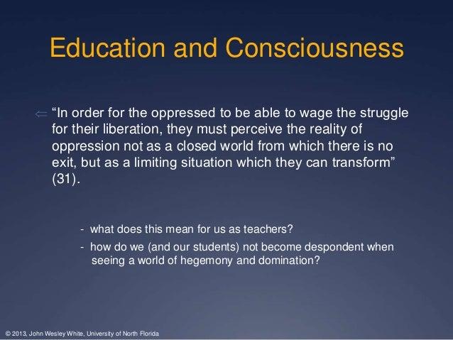 liberation through education