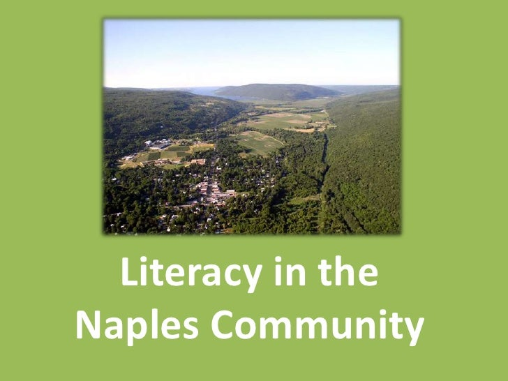 Literacy in theNaples Community
