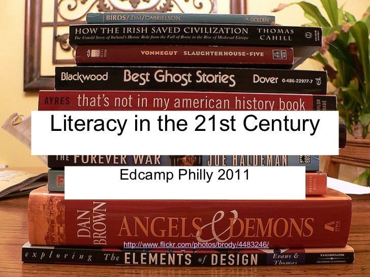 Literacy in the 21st Century Edcamp Philly 2011 http://www.flickr.com/photos/brody/4483246/