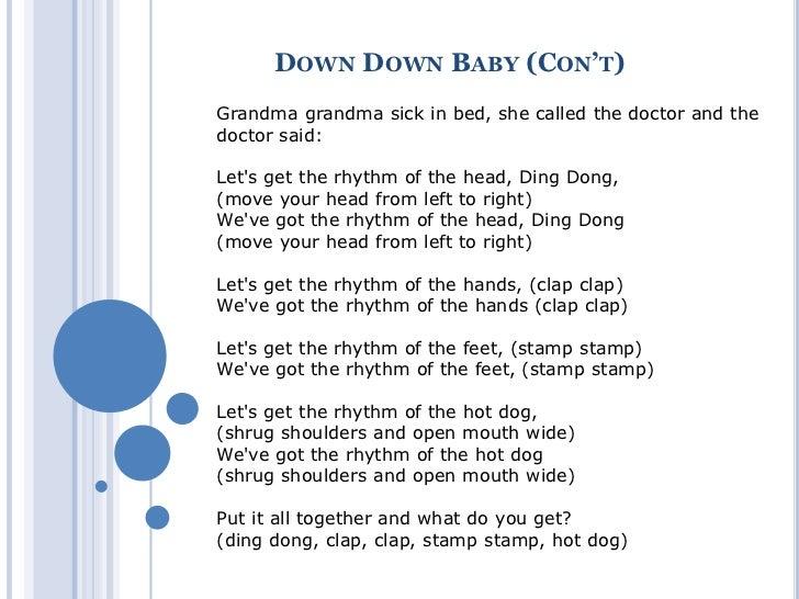 Grandmas hand lyrics