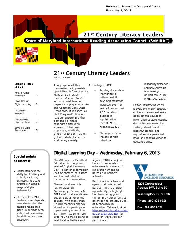 Volume 1, Issue 1 – Inaugural Issue                                                                         February 1, 20...