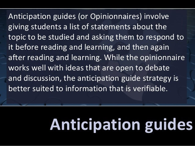 macbeth anticipation guide pre reading activity answers