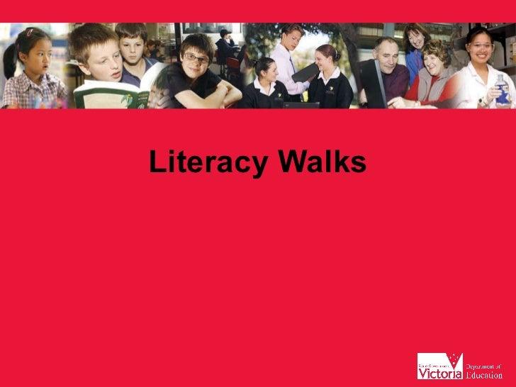 Literacy Walks