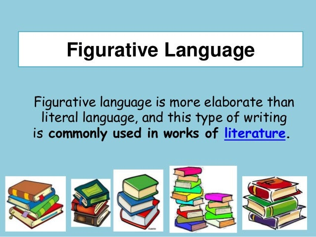 Literal And Figurative Language