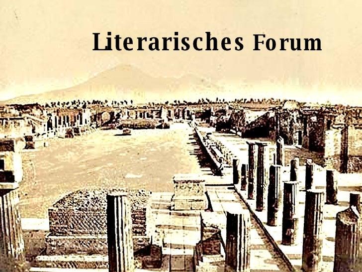 Literarisches  Forum
