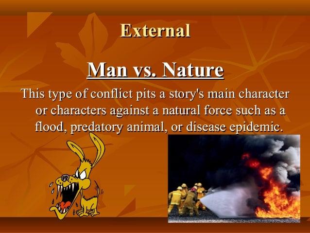 man vs nature conflict