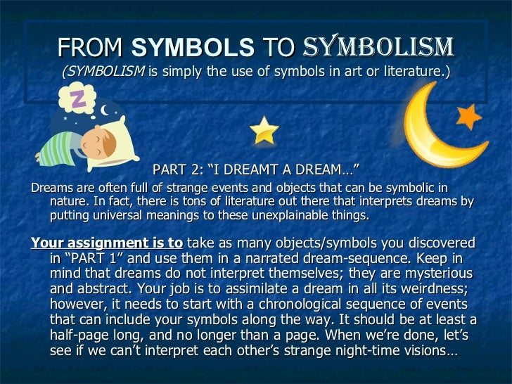 symbol literary elements view symbol