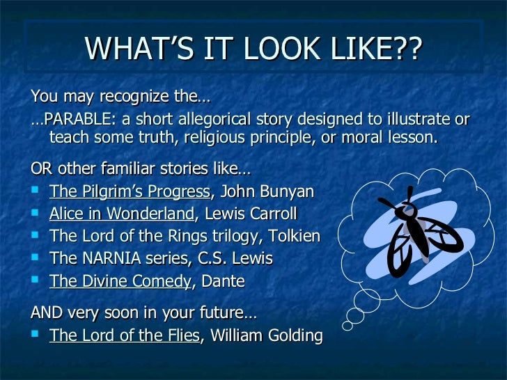 literary terms symbolism and allegory 9
