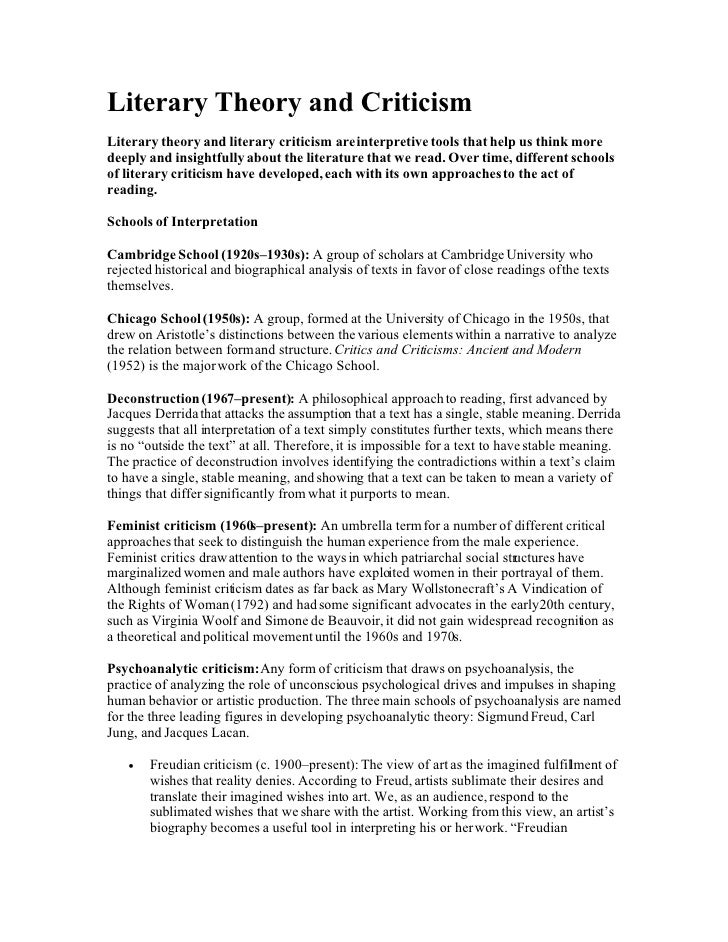 marxist literary theory and criticism essay I can define marxist theory and apply a marxist literary lens to girl lesson: introduction to marxist theory writing a literary analysis essay on world novels.