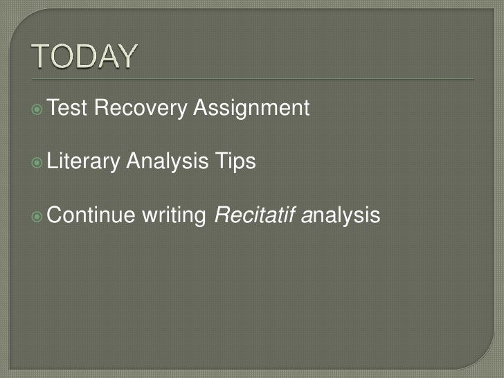 recitatif analysis essay Recitatif analysis essay (math homework help algebra 2) 9 nisan 2018 yorum yazın tarafından yazıldı rt @drgaileastman: see pg 22 - being a target of workplace.