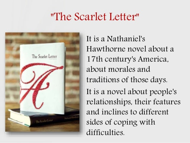 Thesis statements for the scarlet letter