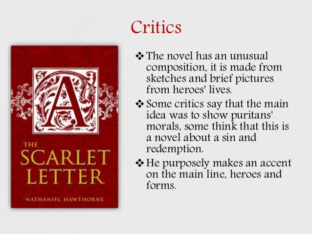 What are some literary devices in The Scarlet Letter that help convey the themes of the novel?