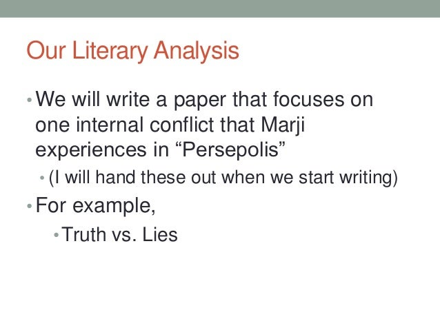 literary analysis paper persepolis 8 our literary analysis