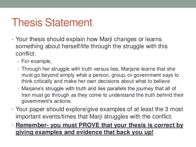Thesis statement for nine stories