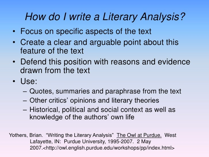 literary criticism overview