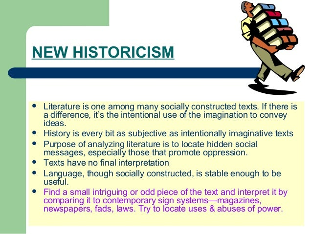 new historicism essays New historicism essays: over 180,000 new historicism essays, new historicism term papers, new historicism research paper, book reports 184 990 essays, term and research papers available for unlimited access.