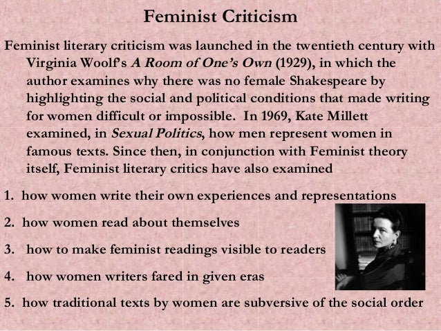 feminist criticism of triffles essay Trifles drama feminist literally criticism essay sample feminist criticism deals with the manner in which literature tends to undermine or reinforce social, political, psychological wellbeing and economic position of the women in the society.