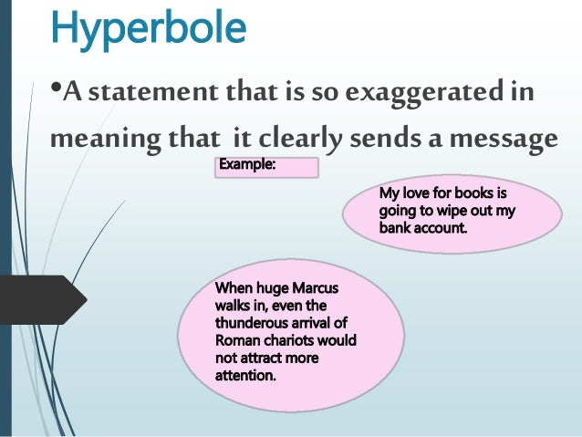 Hyperbole Examples For Students Image Collections Resume Cover