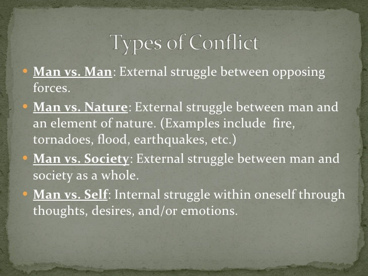 To Build A Fire Conflict Man Vs Nature