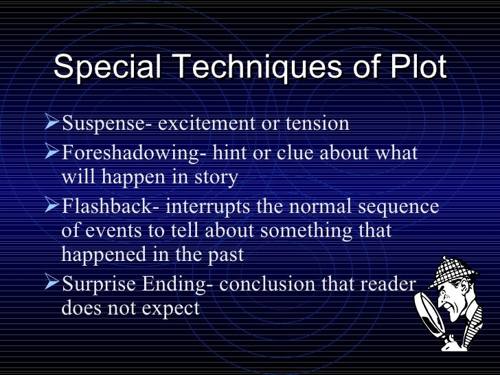 suspense created by elements of fiction When i discovered the answer, it seemed absurdly obvious in psychological  suspense fiction, the characters tend more toward the sociopathic, neurotic.