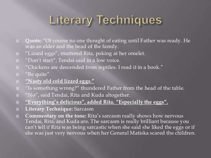 literary techniques Best answer: a literary technique or literary device is an identifiable rule or structure that is employed in literature [edit] elements of fiction.