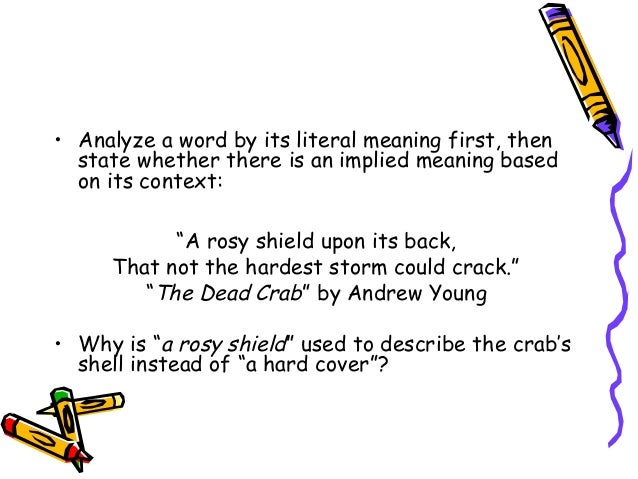 a literary analysis of the dead Field: english language and literature and civilization specialty:  this study  deals with james joyce's story the dead, which dramatizes a dialogue between.
