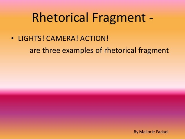 rhetorical terms defined And rhetorical terms  i've tried from time to time to introduce a few american examples and to define terms specific to american literature, but i've not tried to .