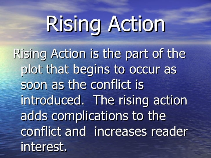 Rising Action Examples In Literature