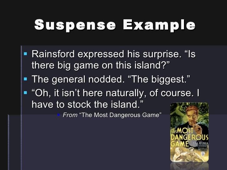 Definition of Suspense