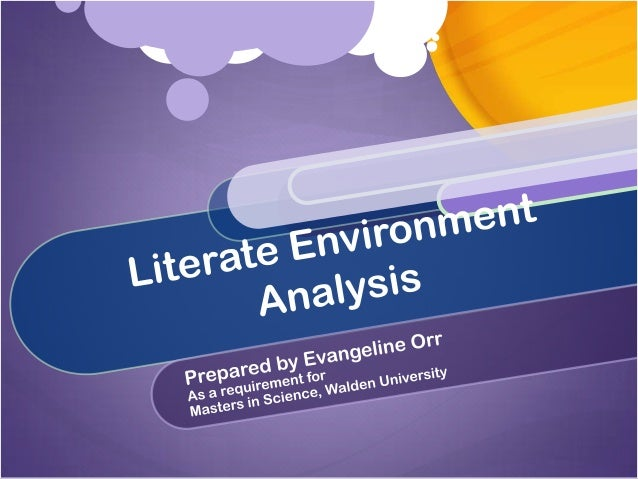 Introduction What is a literate environment? What components do you look for in a literate environment? Learners Texts Ins...