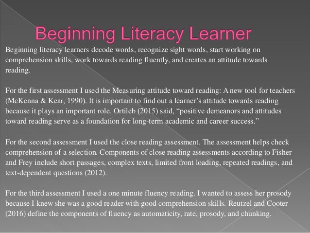Hartman (Laureate Education, 2014a) explained the Literacy Matrix as a tool teachers can use to analyze texts to use in th...
