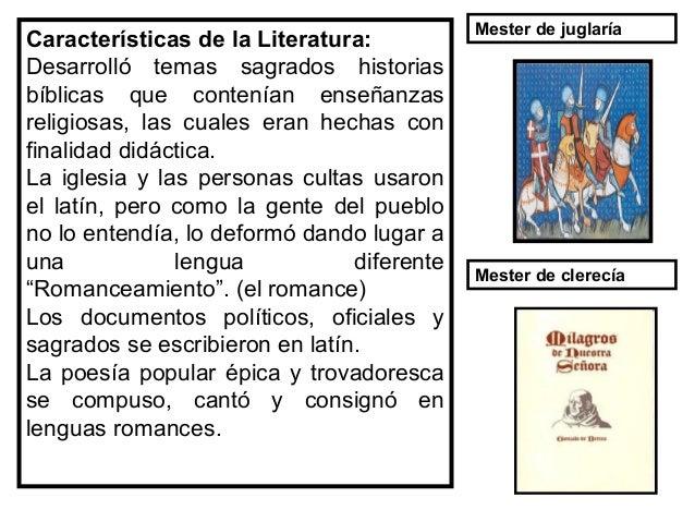 Características de la Literatura • En el terreno literario, el barroco fue el estilo que predominó durante el siglo XVII, ...