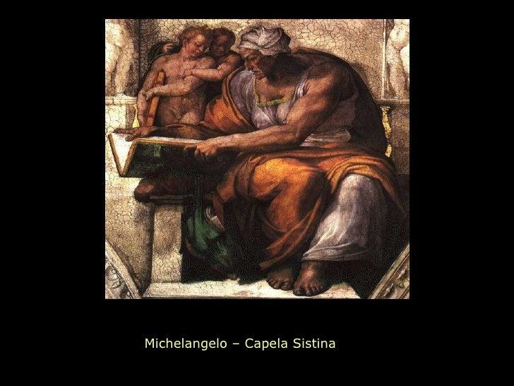 Michelangelo – Capela Sistina