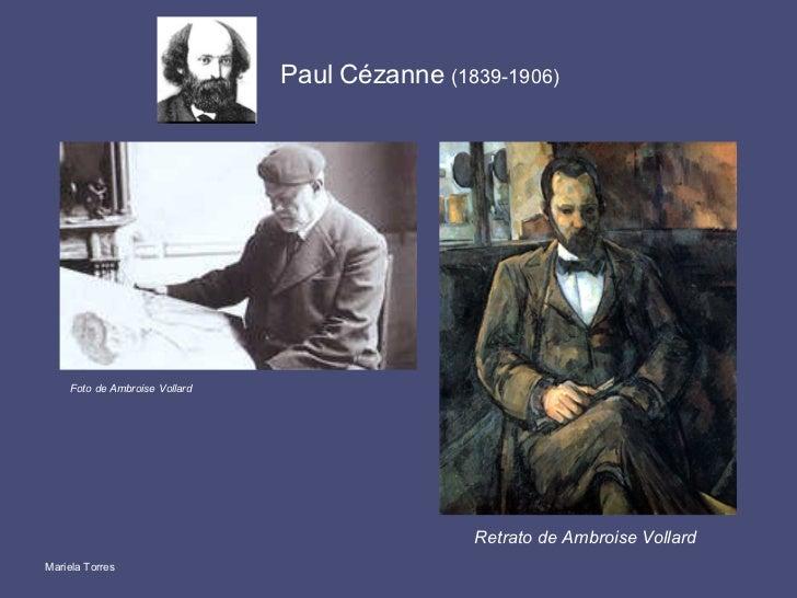 Paul Cézanne  (1839-1906) Mariela Torres Foto de Ambroise Vollard Retrato de Ambroise Vollard