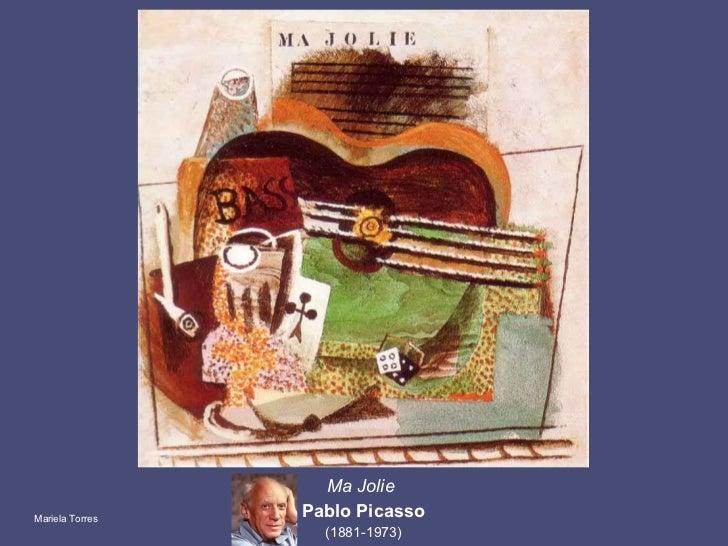 Ma Jolie  Pablo Picasso (1881-1973) Mariela Torres