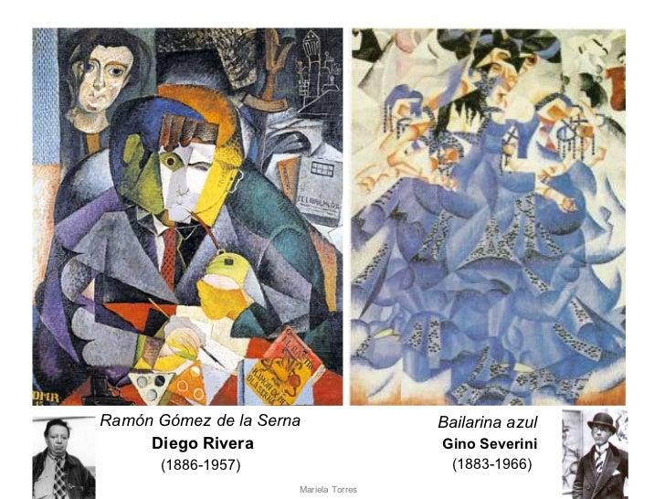 Ramón Gómez de la Serna  Diego Rivera (1886-1957)   Bailarina azul  Gino Severini   (1883-1966) Mariela Torres