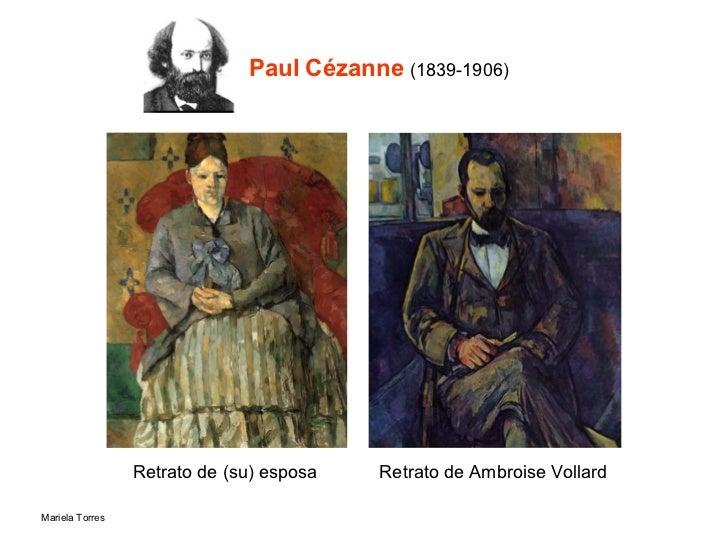 Paul Cézanne  (1839-1906) Retrato de (su) esposa Retrato de Ambroise Vollard
